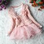Vestido Infantil Importado Luxo Com Casaco -pronta Entrega!