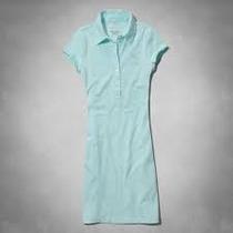 Vestido Abercrombie Polo Azul - Original - Importado