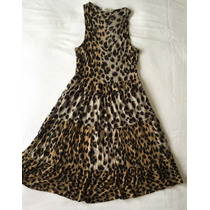 Vestido Aquamar Estampa Animal Print Onça Tam.: M