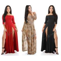Vestidos Femininos Festa Ou Casuais Sereia Longo Estampado