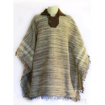 Pala De Lã Ovelha Tradicional Unissex Poncho Gaúcho