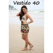 Vestido Renda Rodado Balada Festa Casual Reveillon Praia