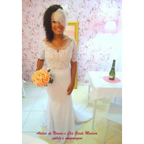 Vestido De Noiva Sereia Pérola