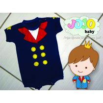 Jojo Baby - Body Macacão Bebê Pequeno Príncipe