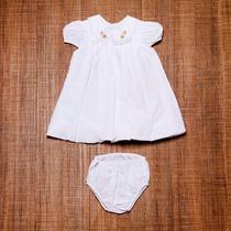 Vestido Bebê Para Batizado