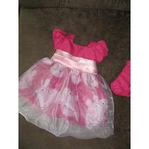 Vestido Infantil Peppa Pig Com Organza