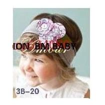 Faixas Cabelo Bebe Tiara Arco Importadas Hair Band Kit3un
