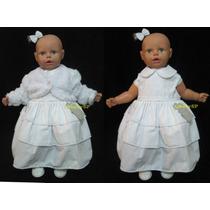 Super Promoção Vestido De Festa Infantil Batizado Casamento