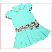Vestido Infantil Festa Tenista Criança Aniversário Bebê