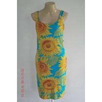 Lindo Vestido C/ Estampa Floral Tam; M R$ 30,00