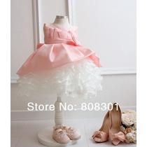 Vestido Princesa Bebe Menina Aniversario Casamento Festa