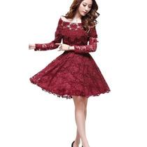 Vestidos Clássicos 5 - Rendado Alto Luxo - Frete Grátis -