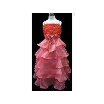 Vestido Infantil Festa/princesa/daminha Varias Cores Longuet