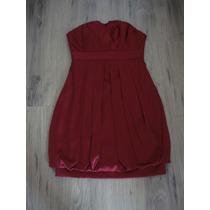 Forum, Maravilhoso Vestido Vermelho Em Seda