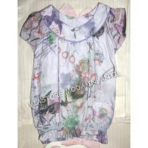 Vestido Lilás Estampado Lilica Ripilica 2012 - 4 Infanto