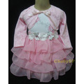 Vestido De Festa Infantil - Vestido De Princesa Com Bolero