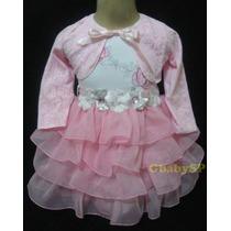 Vestido Princesa - Festa Casamento Batizado Daminha