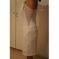 Vestido Branco Rouparia Montag Usado 2 Vezes Tamanho 40