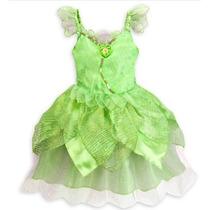 Disney Vestido Fantasia Tinkerbell Sinhinho Original
