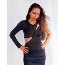 Vestido De Noite Luxo Panicat