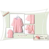 Sitica´s Vestido Infantil De Renda Menina Princesa