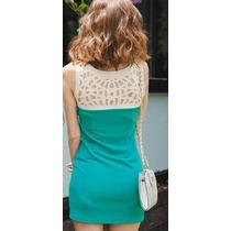 Roupa De Mulher Vestido Curto Verde Esmeralda Moda Feminina