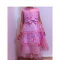 Vestido Infantil Festa/princesa/casamento Bolero T 2,3,4 E6