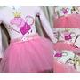 Fantasia Peppa Pig Bailarina Manga Longa... Princesas!!!