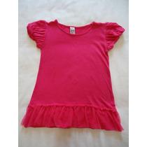 Vestido Minivest Menina Zara Pink Babado 2 A 3 Anos