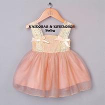 Vestido Festa Infantil 3 A 04 Anos Lindo!