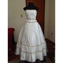 Vestido Noiva Seda Bordado Renda Casamento