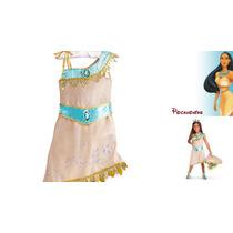 Fantasia Infantil Pocahontas Original Disney Estados Unidos