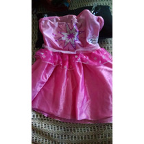 Vestido Fantasia Barbie Moda E Magia Bebe Tam: P