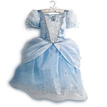 Fantasia Princesa Cinderela Disney Original Tam 5/6,7/8