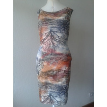 Exclusivo Vestido Viscolycra Incrível Estampa Floral Soturno
