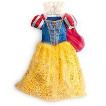 Fantasia Princesa Branca De Neve Disney Store -importada!!!