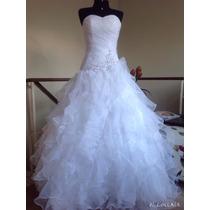 Vestido Noiva Ou Debutante. Mod. Cristina. Tam 38/42. Lindo!
