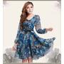 Lindo Vestido Plus Size Estampa Floral - Pronta Entrega