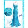 Fantasia Princesa Elsa Frozen Adulto - Importado