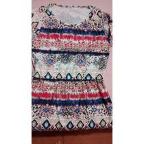Vestido Estampa Étnica - Novo, Embalado, Excelente Preço!!!