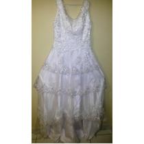 Vestido Casamento Renda Cauda Pronta Entrega Frete Grátis!