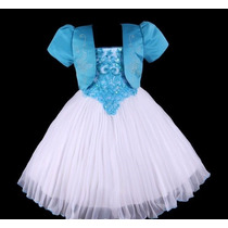 Vestido De Festa Infantil (florista, Aniversário, Formatura)