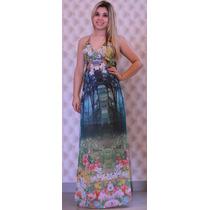 Vestido Longo Feminino Casual Verão 2014