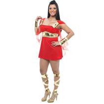 Fantasia Deusa Grega Sexy,vestido,guerreira,gladiadora
