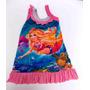 Vestidos Infantil Personagens Peppa, Dora, Barbie