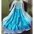 Vestido/fantasia Frozen Elsa E Ana Sob Medida Envio 3 Dias