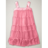 Vestido Gap Em Camadas Tulle Bailarina Rosa 3 Anos Carters