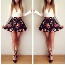 Lindo Vestido Florido Casual E Festa Importado Imperdível