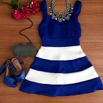 Vestido Rodado Listrado