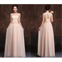 Vestido De Festa Casamento Madrinha Formatura